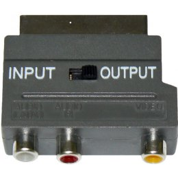 ADAPTER CINCH/SCART OUT/IN