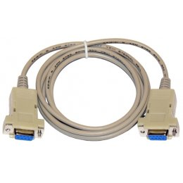 KABEL RS232-RS232 NULL MODEM - 1,8m