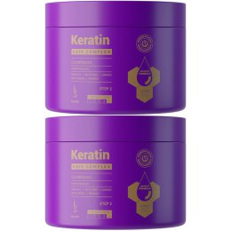KERATIN HAIR COMPLEX ADVANCED FORMULA CONDITIONER 200ML - 2 SZTUKI